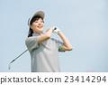 golf, golfing, female 23414294