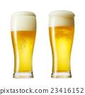 유리 맥주 두 개 23416152