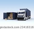 卡車 汽車 交通工具 23416316
