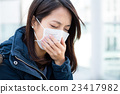 Woman suffer from sick 23417982