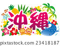 Okinawa, material, materials 23418187