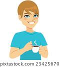 Man Taking Coffee 23425670