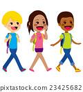 Children Walking School 23425682