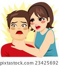 Woman Strangling Man 23425692