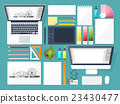 Graphic web design. Drawing and painting 23430477