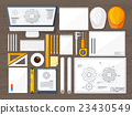 Vector illustration. Engineering and architecture 23430549