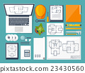 Vector illustration. Engineering and architecture 23430560