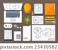 Vector illustration. Engineering and architecture 23430562