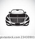 Vector image of an car design on white background. 23430903