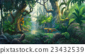 fantasy forest background illustration painting 23432539