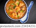 Asian shrimp soup 23434231