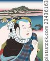 Utagawa Kunita東海道五十三世的Fuchu Kita 8的形象 23436163