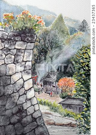 Shiiba村莊的略圖 23437365