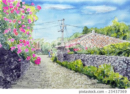 Sketch of Okinawa Sightseeing Taketomijima Bumbaglia 23437369