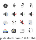 audio, icon, music 23440164