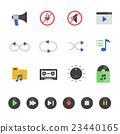 audio, icon, music 23440165