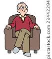 grandad, grandpa, sofa 23442294
