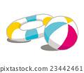 沙灘球 游泳圈 充氣 23442461