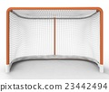 3d illustration of hockey gates 23442494