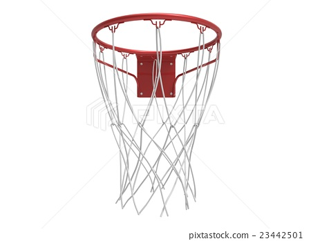 3d illustration of basketball web 23442501