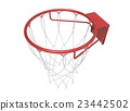 3d illustration of basketball web 23442502