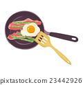 油炸食品 荷包蛋 烹飪 23442926