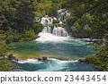 Waterfalls Krka 23443454