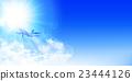 airplane, plane, sky 23444126