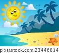 ชายหาด,ทะเล,ฤดูร้อน 23446814