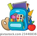 Schoolbag theme image 1 23446836