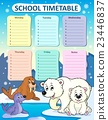 Weekly school timetable composition 1 23446837