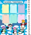 Weekly school timetable composition 2 23446838