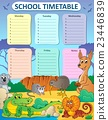 Weekly school timetable composition 3 23446839