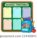 Weekly school timetable composition 5 23446841