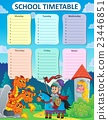 Weekly school timetable thematics 9 23446851
