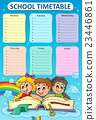 Weekly school timetable topic 5 23446861