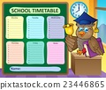 Weekly school timetable topic 9 23446865