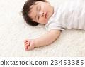 아기, 작은, 수면 23453385