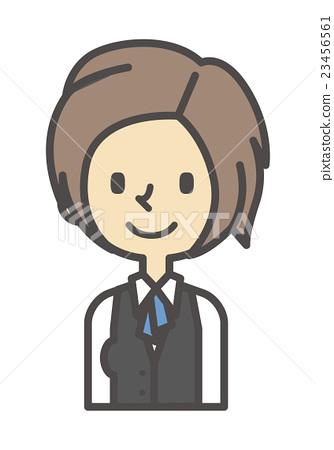 Clerk [Simple character series] 23456561