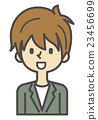 Shop clerk company staff hairdresser [Simple character series] 23456699