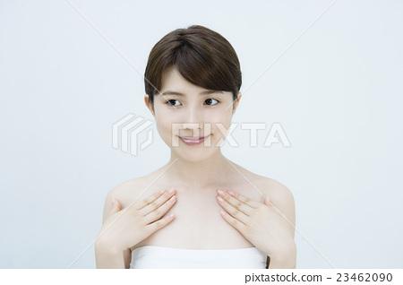 피부의 여성 미용 인물 23462090
