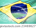 Brazil flag and stadium 23469627