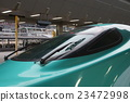 tohoku shinkansen, carriage, vehicle 23472998