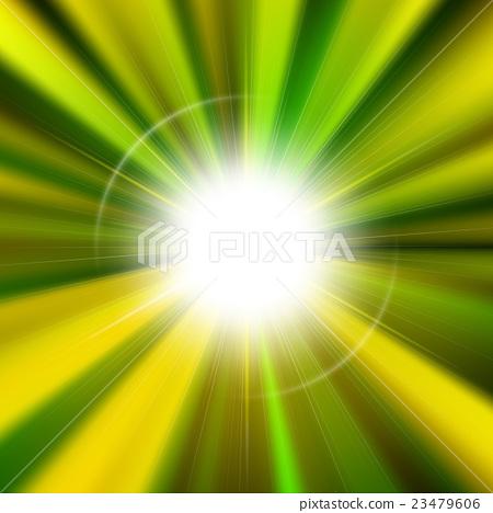 Flare bright shiny star 23479606