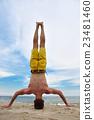 Yoga practice. 23481460