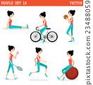 Sports girl 23488059