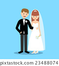 Groom and bride 23488074