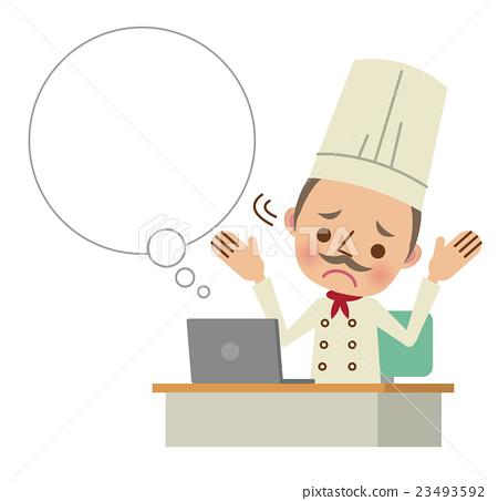 大廚 主廚 男人 23493592