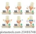 chef, chefs, vector 23493748