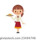 女服務員 大廳職員 女性 23494746